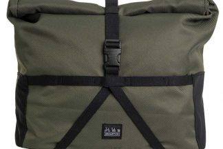 Brompton Borough Roll Top Bag with Frame - Green/Other