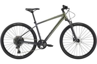 cannondale quick cx 1 2021 menaposs hybrid bike green