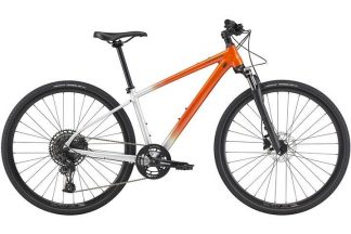 cannondale quick cx 1 2021 womens hybrid bike silver