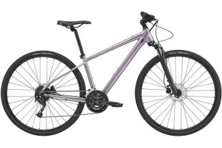 cannondale quick cx 2 2021 womens hybrid bike purple