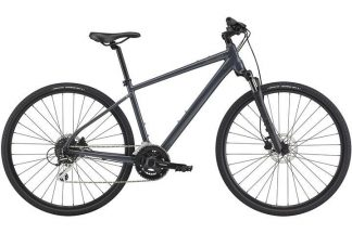 cannondale quick cx 3 2021 menaposs hybrid bike grey