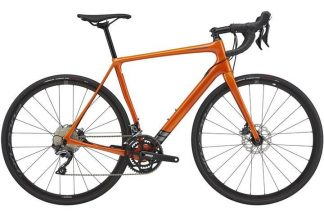 cannondale synapse carbon ultegra 2021 menaposs road bike orange