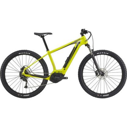 cannondale trail neo 4 2021 electric mountain bike yellow