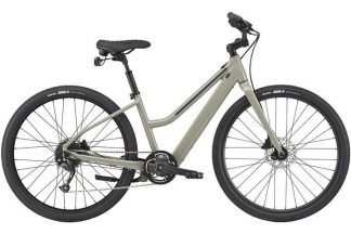 cannondale treadwell neo remixite step through 2021 electric hybrid bike grey