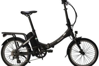 raleigh stow e way 2020 electric folding bike grey