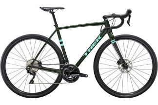 trek checkpoint alr 5 2020 adventure road bike green