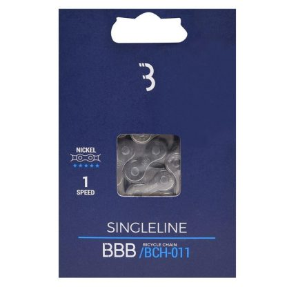 BBB SingleLine Cycle Chain - Silver