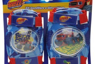 Blazer Pro Blaze and The Monster Machines Protective Pads Childrens - Blue