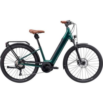 Cannondale Adventure Neo 1 Equipped 2021 Electric Hybrid Bike - Emerald 22