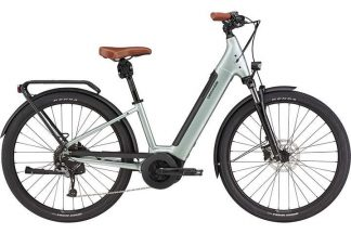 Cannondale Adventure Neo 2 Equipped 2021 Electric Hybrid Bike - Sage Gray 22
