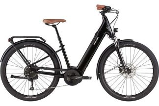 Cannondale Adventure Neo 3 Equipped 2021 Electric Hybrid Bike - Black 22