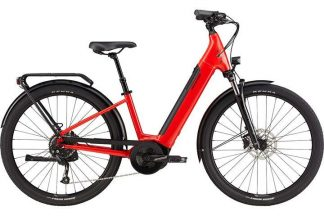 Cannondale Adventure Neo 3 Equipped 2021 Electric Hybrid Bike - Rally Red 22