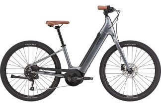Cannondale Adventure Neo 4 2021 Electric Hybrid Bike - Charcoal Grey23