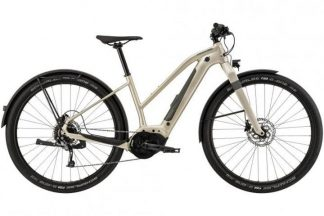 Cannondale Canvas Neo 2 Remixite 2021 Electric Hybrid Bike - Champagne 22