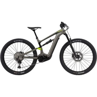 Cannondale Habit Neo 2 2021 Electric Mountain Bike - Stealth Grey 22