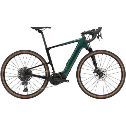 Cannondale Topstone Neo Carbon 1 Lefty 2021 Electric Gravel Bike - Emerald 22