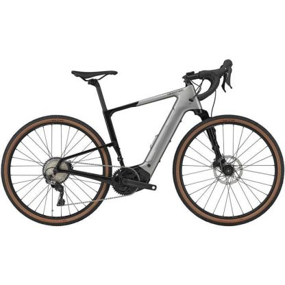 Cannondale Topstone Neo Carbon 3 Lefty 2021 Electric Gravel Bike - Grey