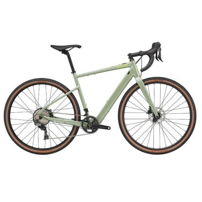 Cannondale Topstone Neo SL1 2021 Electric Gravel Bike - Agave 23