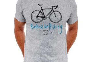 Cycology Rather be Riding Short Sleeve Tee - Grey