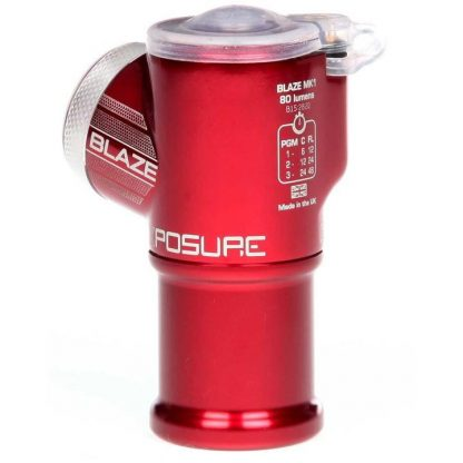 Exposure Bracket And Silicon Band For Blaze Rear Light - N/A