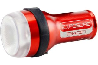 Exposure TraceR Rear Light with DayBright - 75 Lumen - Black