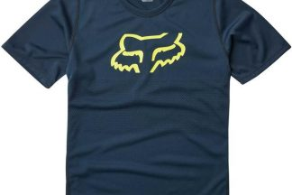 Fox Youth Ranger Short Sleeve Jersey - Navy Blue/Other