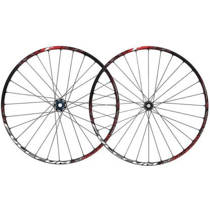 """Fulcrum Red Passion Tubeless AFS 29"""" Wheelset - Black/Red"""