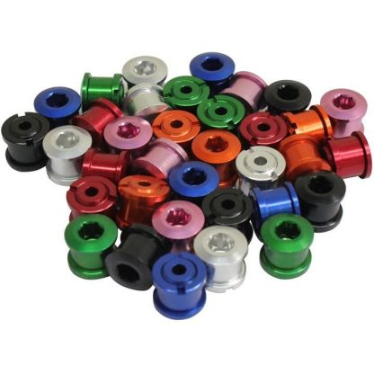 FWE Alloy Chainring Bolts - Black