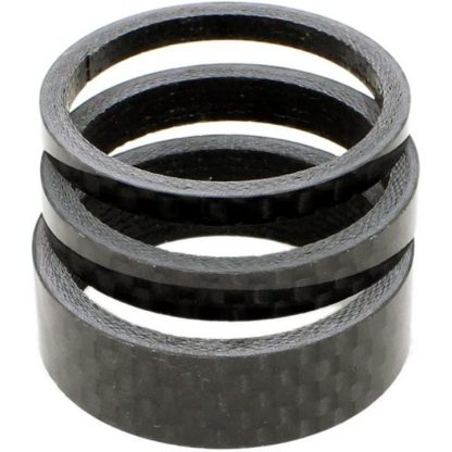 FWE Carbon Spacer 3 Pack 1 1/8 Inch - Carbon