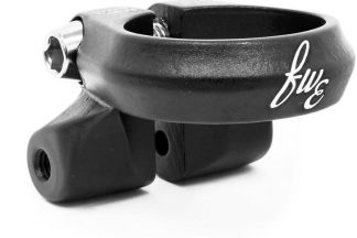 FWE Seat Clamp with Rack Mounts - Black