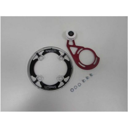 Gamut Dual Ring ISCG-05 Chain Guide and Bashguard (Ex-Demo / Ex-Display) - Black