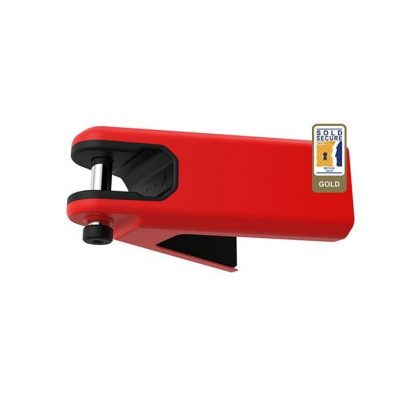 Hiplok Airlok Wall Hanger Sold Secure Gold - Red