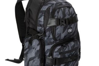 No Fear Skate Backpack - Abstract Camo
