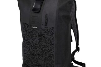 Ortlieb Velocity Design Backpack 23 Litres - Black Waves