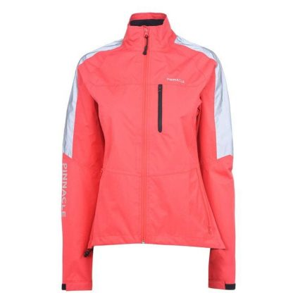 Pinnacle Competition Cycling Jacket Ladies - Coral