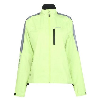 Pinnacle Competition Cycling Jacket Ladies - Yellow