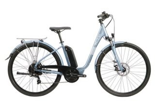 Raleigh Array Low step Exclusive 2021 Electric Hybrid Bike - Blue