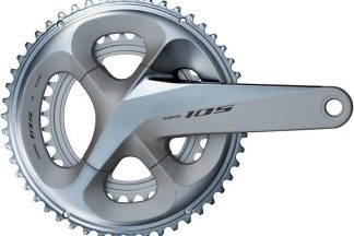 Shimano 105 R7000 Road Chainset - 52/36 - Silver