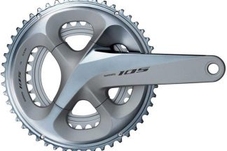 Shimano 105 R7000 Road Chainset - 53/39 - Silver
