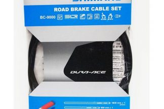 Shimano Dura-Ace 9000 Road Grease Filled Silicone Brake Cable Set - Black