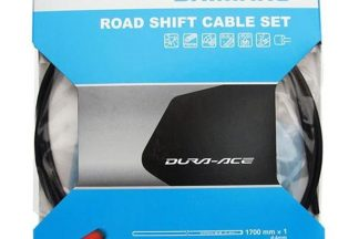 Shimano Dura-Ace 9000 Road Grease Filled Silicone Gear Cable Set - Black
