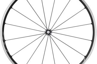 Shimano RS500 Tubeless Compatible Clincher QR Front Wheel - Grey