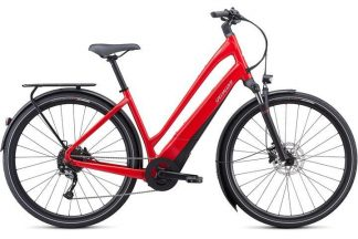 Specialized Como 3.0 Low Entry 2021 Electric Hybrid Bike - Red
