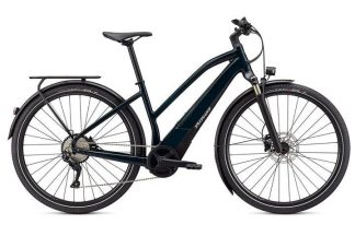 Specialized Vado 4.0 Step Through 2021 Electric Hybrid Bike - Forest Green