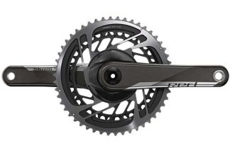 SRAM Red DUB Road Double Chainset - 48-35 - Black/Silver