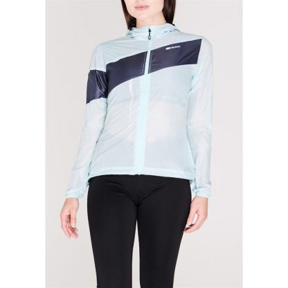 Sugoi Run For Cover Jacket Ladies - Ice Blue