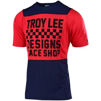 Troy Lee Designs Youth Short Sleeve Jersey - Blue/Red