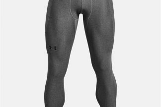 Under Armour HeatGear Core Tights Mens - Carbon Heather