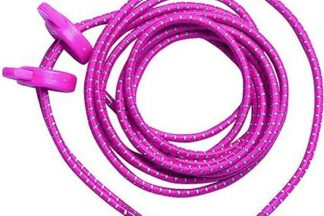 Zone3 Elastic Laces - Pink