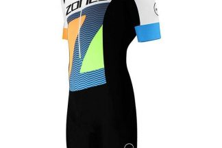 Zone3 Lava Long Distance Short Sleeve Aerosuit - Limited Edition Print - N/A